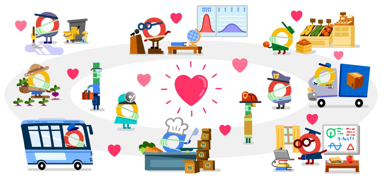 Google Doodle Covid-19