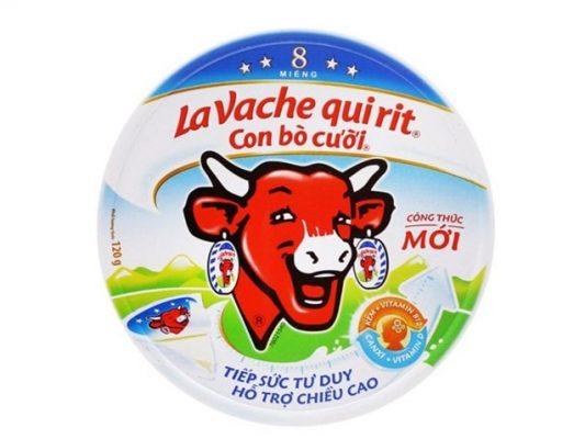 4. La vache qui rit (Phô mai con bò cười)